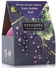 """Духи, Парфюмерия, косметика Бурлящий шар для ванны """"Чёрносмородиновый сорбет"""" в упаковке - Stenders Blackcurrant Sorbet Bath Bubble Ball In A Costom-Designed Box"""