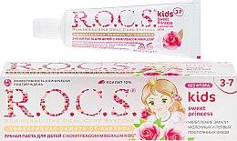 """Духи, Парфюмерия, косметика Зубная паста """"Эффективная защита от кариеса"""" - R.O.C.S. Kids Sweet Princess 3-7 years"""