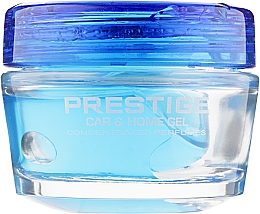 "Духи, Парфюмерия, косметика Ароматизатор гелевый для авто ""Ледяная мята"" - Tasotti Gel Prestige Ice Mint"