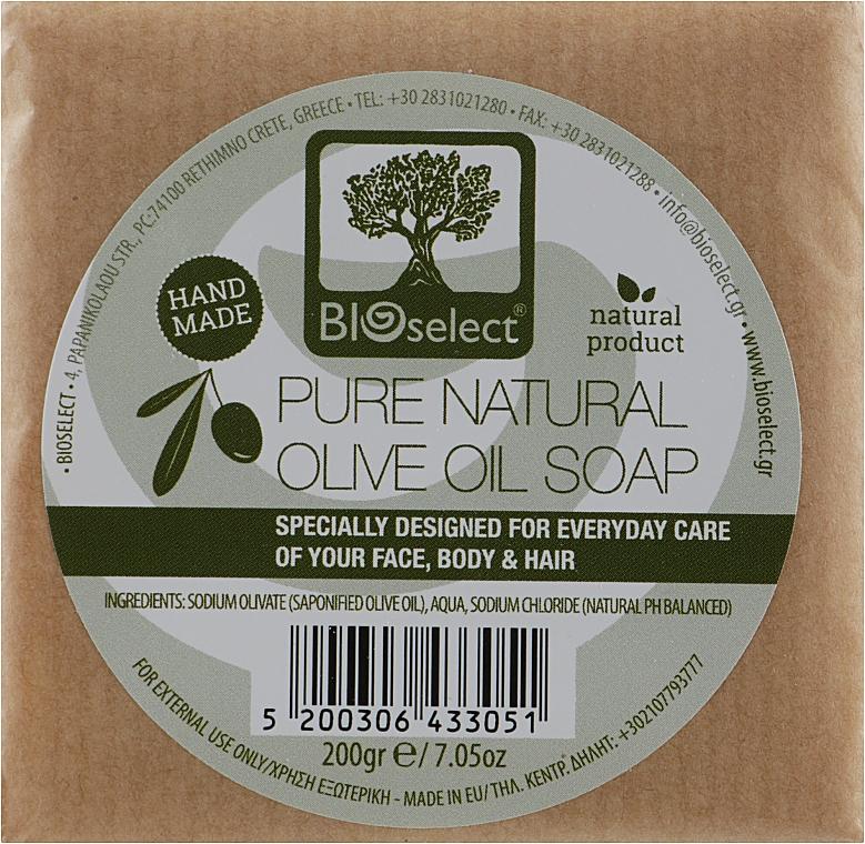 Натуральное мыло с оливковым маслом - BIOselect Pure Natural Olive Oil Soap