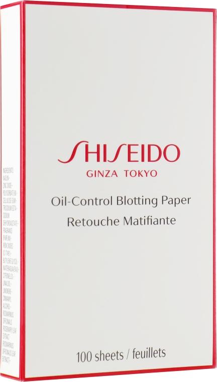 Салфетки очищающие - Shiseido Pureness Oil-Control Blotting Paper