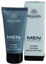 Духи, Парфюмерия, косметика Активно восстанавливающий гель для рук - Alessandro International Men Hand Gel
