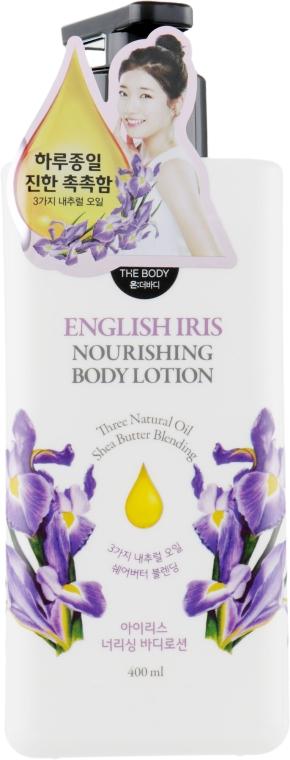 Парфюмированный лосьон для тела - LG Household & Health Care On The Body English Iris