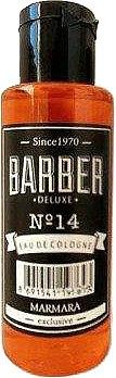 Одеколон после бритья - Marmara Barber №14 Eau De Cologne (мини)