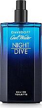 Духи, Парфюмерия, косметика Davidoff Cool Water Night Dive - Туалетная вода (тестер без крышечки)