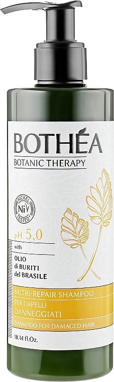 Шампунь для поврежденных волос - Bothea Botanic Therapy Nutri-Repair Shampoo pH 5.0