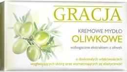 Духи, Парфюмерия, косметика Мыло туалетное с экстрактом маслин - Gracja Olive Cream Soap