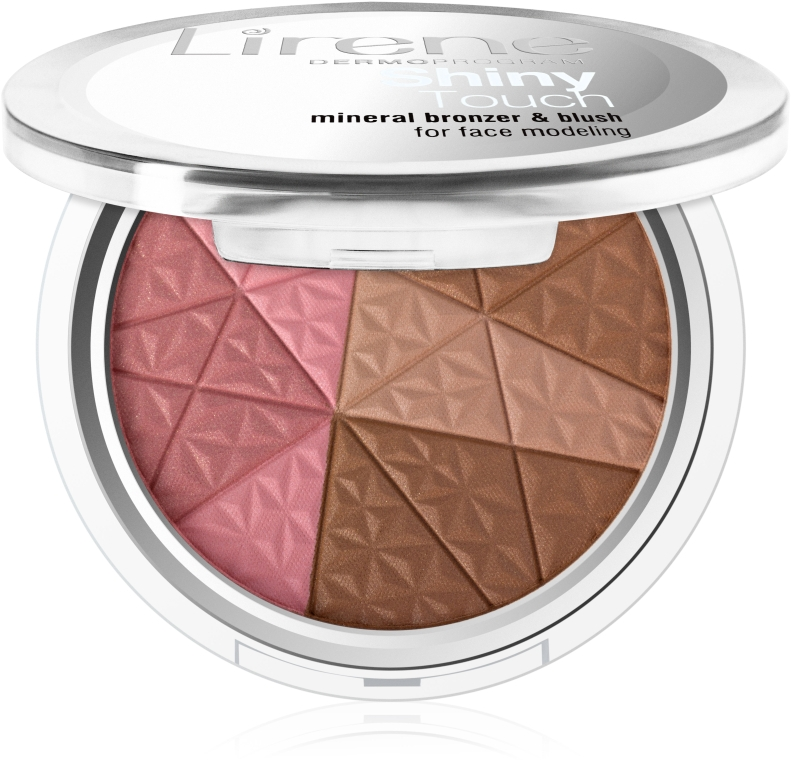 Бронзатор для лица - Lirene Shiny Touch Mineral Bronzer & Blush