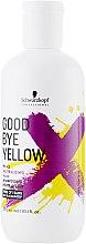 Безсульфатный шампунь с антижелтым эффектом - Schwarzkopf Professional Goodbye Yellow Shampoo — фото N1