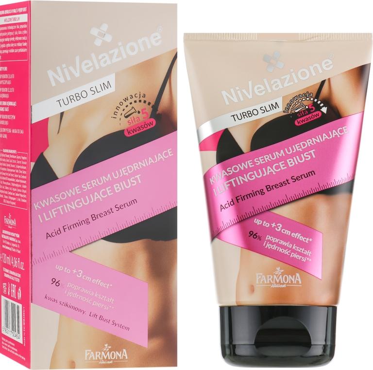 Подтягивающая сыворотка для груди - Farmona Nivelazione Turbo Slim Acid
