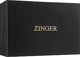 Духи, Парфюмерия, косметика Маникюрный набор MS-BC-830-S, лаковый, коричневый - Zinger