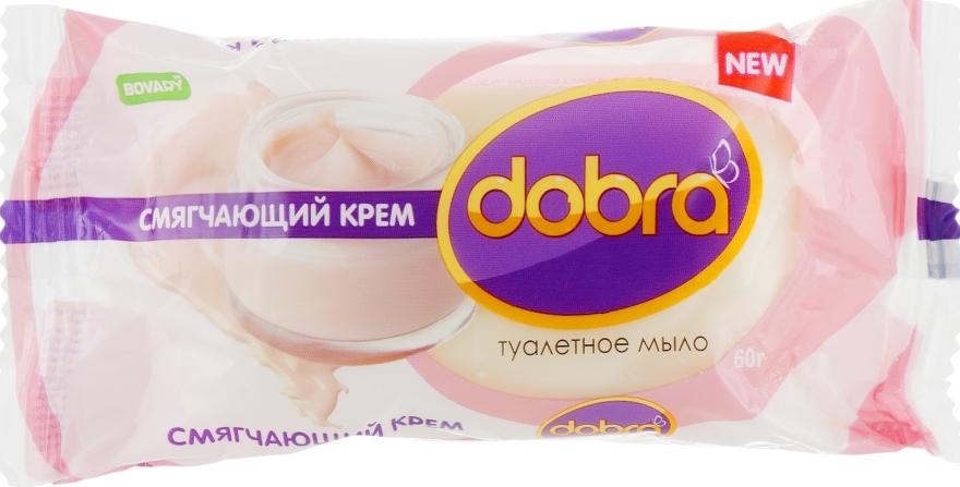 """Мыло туалетное """"Смягчающий крем"""" - Мыловаренные традиции Dobra"""