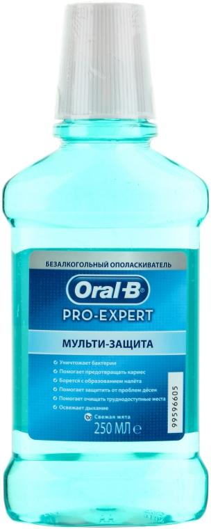 """Безалкогольный ополаскиватель для рта """"Мульти-защита"""" - Oral-B Pro-Expert Multi Protection"""