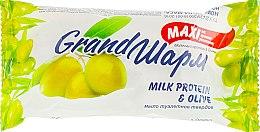 """Духи, Парфюмерия, косметика Крем-мыло твердое """"Молочный протеин и оливка"""" - Мыловаренные традиции Grand Шарм Maxi Milk Protein & Olive Soap"""