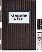 Духи, Парфюмерия, косметика Abercrombie & Fitch First Instinct - Туалетная вода (пробник)