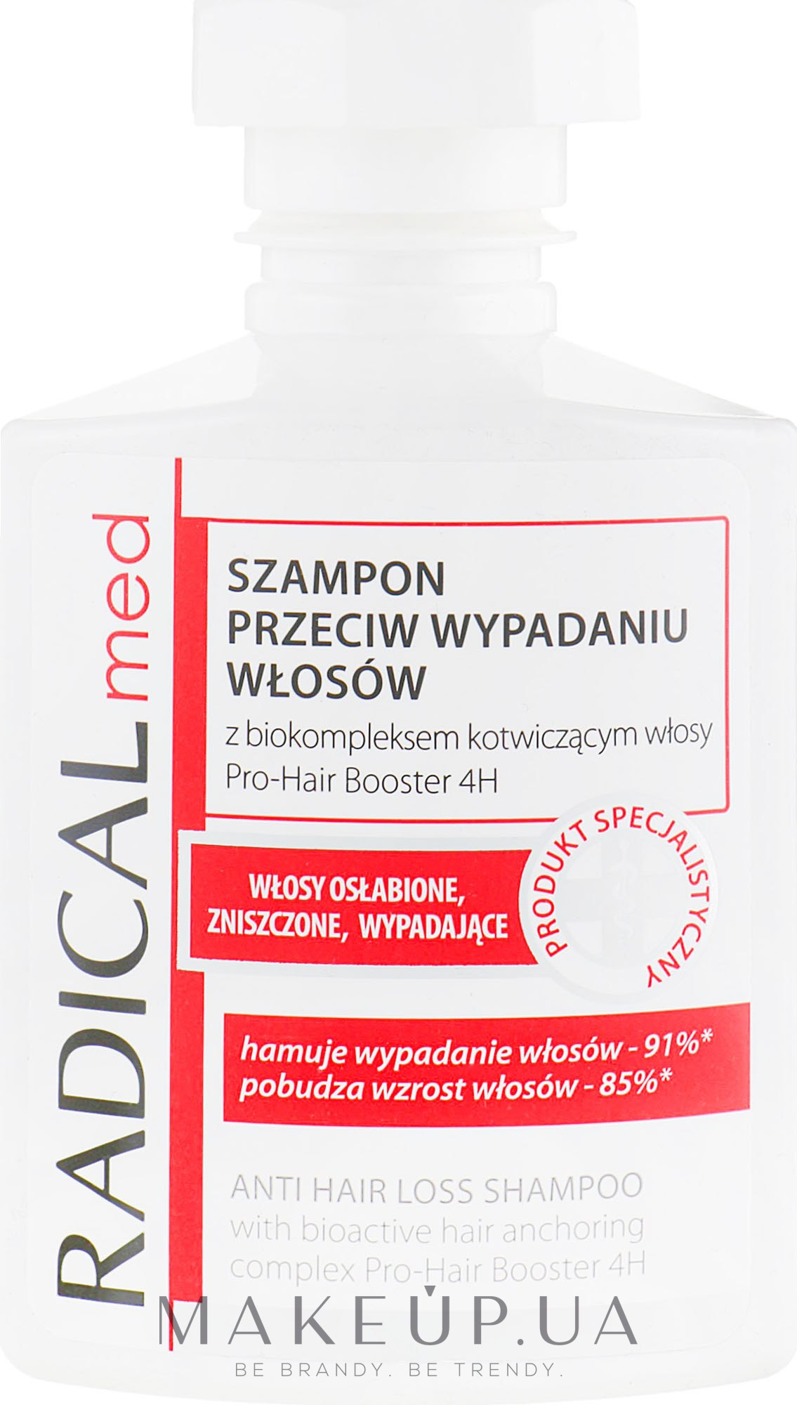 Шампунь против выпадения волос - Farmona Radical Med Anti Hair Loss Shampoo  — фото 300ml