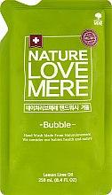 Духи, Парфюмерия, косметика Жидкое мыло для рук с антибактериальным эффектом - Nature Love Mere (сменный блок)