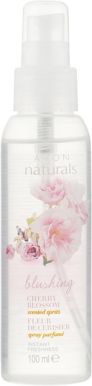"Лосьон-спрей для тела ""Вишневый цвет"" - Avon Naturals Body Spray"