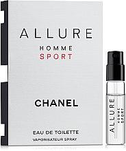 Духи, Парфюмерия, косметика Chanel Allure homme Sport - Туалетная вода (пробник)