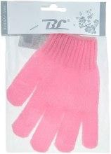 Духи, Парфюмерия, косметика Мочалка-перчатка банная, розовая - Beauty Line