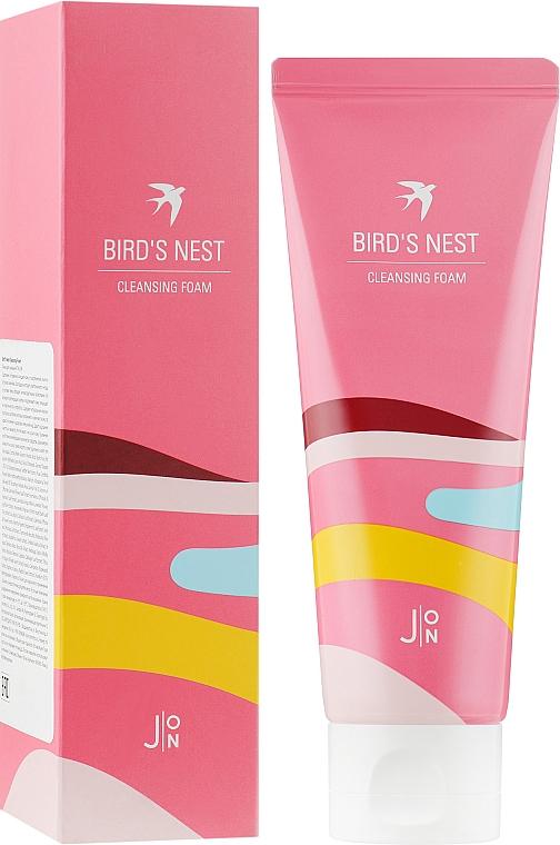 """Пенка для умывания """"Ласточкино гнездо"""" - J:ON Bird's Nest Cleansing Foam"""