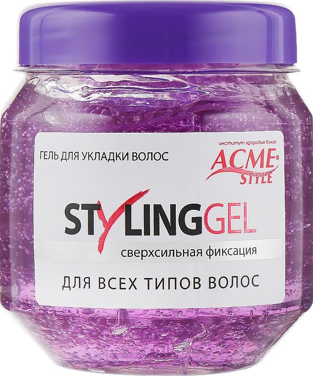 Гель для укладки волос сверхсильной фиксации Acme-Style Styling Gel - Acme Color