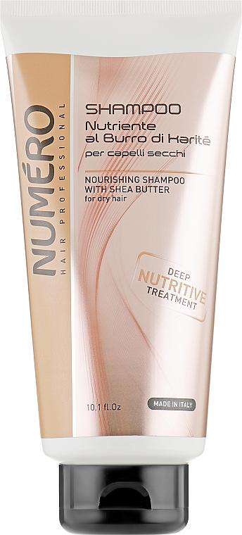 Шампунь для волос питательный с маслом карите - Brelil Numero Deep Nutritive Treatment Shampoo