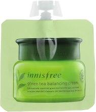 Духи, Парфюмерия, косметика Балансирующий крем с зеленым чаем - Innisfree Green Tea Balancing Cream (пробник)