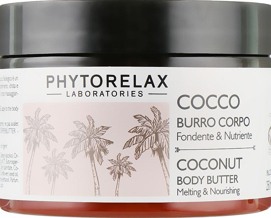 Масло для тела - Phytorelax Laboratories Coconut Body Butter