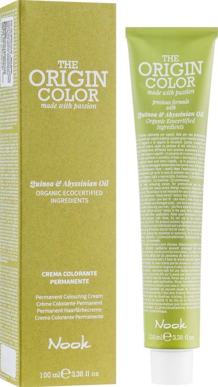 Крем-краска для волос - Nook The Origin Color Cream