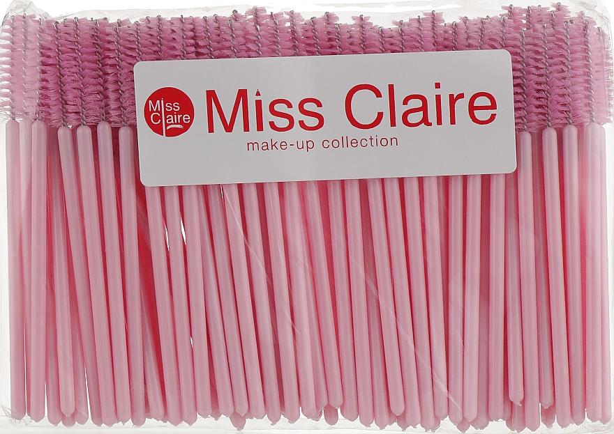 Набор одноразовых щеточек для ресниц и бровей, 100 шт - Miss Claire