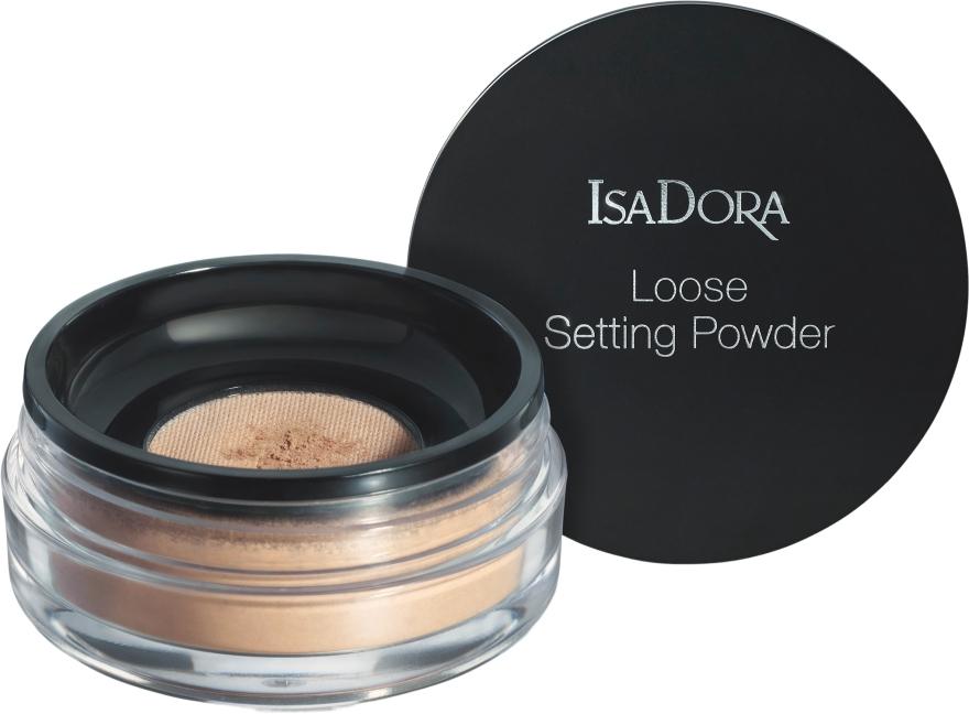 Рассыпчатая пудра для лица - IsaDora Loose Setting Powder