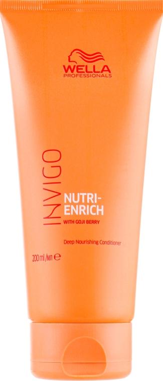 Кондиционер с ягодами годжи, питательный - Wella Professionals Invigo Nutri-Enrich Deep Nourishing Conditioner