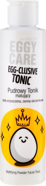 Тоник для лица с экстрактом яичного желтка - Marion Eggy Care Egg-Clusive Tonic