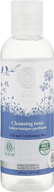 Очищающий тоник для жирной и комбинированной кожи - Natura Siberica Born in Siberia Cleansing Tonic