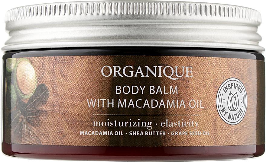 Бальзам для тела с маслом макадамии - Organique Shea Butter Body Balm With Macadamia Oil