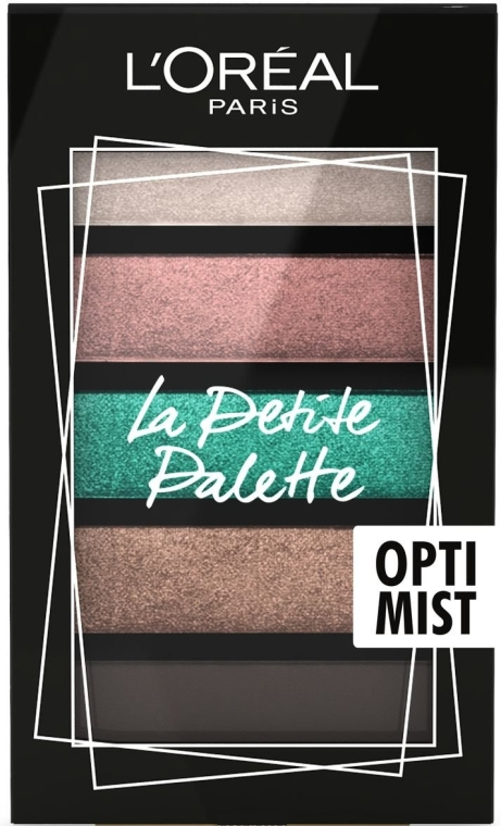 Палетка теней для век - L'Oreal Paris La Petit Palette Optimist Eyeshadow