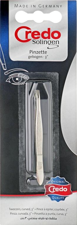 Пинцет для бровей скошенный, 14510 - Credo Solingen Faces