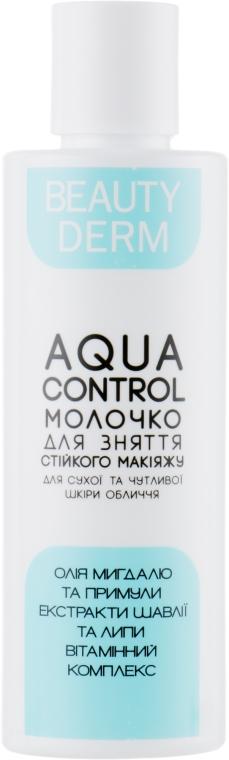 """Молочко для снятия макияжа """"Для сухой и чувствительной кожи"""" - Beauty Derm Aqua Control"""