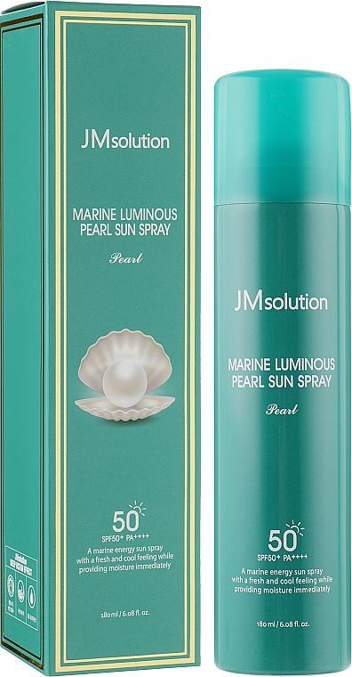 Солнцезащитный спрей для лица - JMsolution Marine Luminous Pearl Sun Spray Pearl SPF50+ PA++++