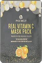 Духи, Парфюмерия, косметика Маска тканевая для лица с витамином С - Pax Moly Real Vitamin C Mask Pack