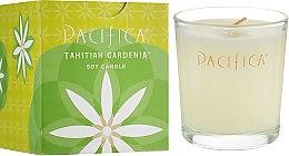 Духи, Парфюмерия, косметика Соевая свеча - Pacifica Tahitian Gardenia Soy Candle
