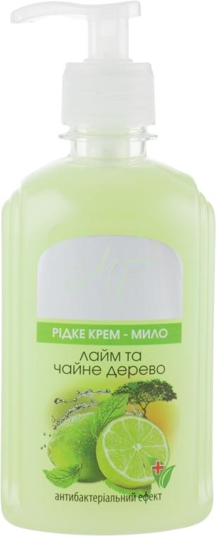 """Крем-мыло """"Лайм и чайное дерево"""" - Pirana Modern Family Soap"""