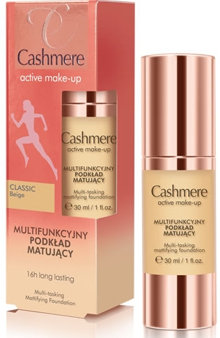 Матовая тональная основа - Dax Cashmere Active Make-Up Mattifying Foundation — фото N1