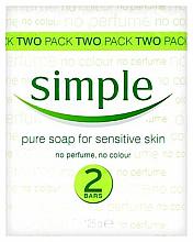 Духи, Парфюмерия, косметика Мыло - Simple Pure Soap for Sensitive Skin