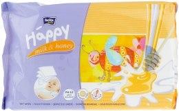 """Духи, Парфюмерия, косметика Влажные салфетки """"Молоко и Мед"""" - Bella Baby Happy Milk & Honey"""