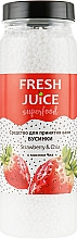 "Духи, Парфюмерия, косметика Средство для ванн ""Клубника и Чиа"" - Fresh Juice Superfood Strawberry & Chia"