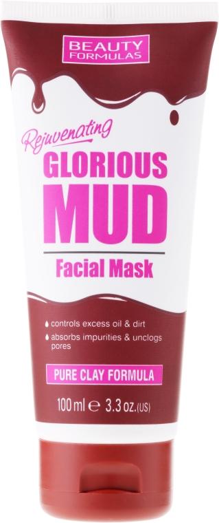Грязевая маска для лица - Beauty Formulas Glorious Mud Facial Mask