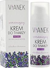 Духи, Парфюмерия, косметика Укрепляющий ночной крем для лица - Vianek Night Face Cream