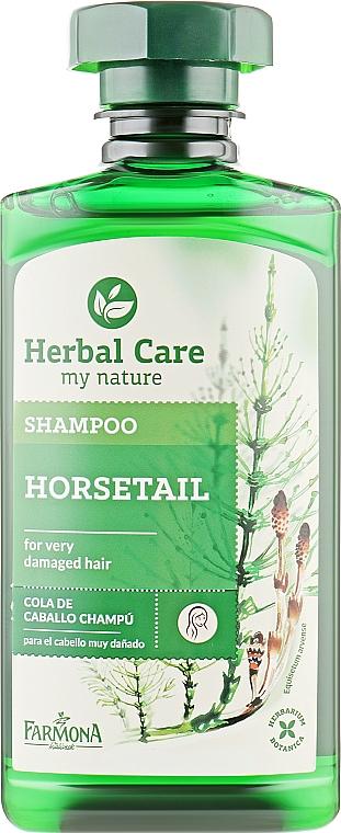 "Шампунь для волос ""Полевой хвощ"" - Farmona Herbal Care Horsetail Shampoo"